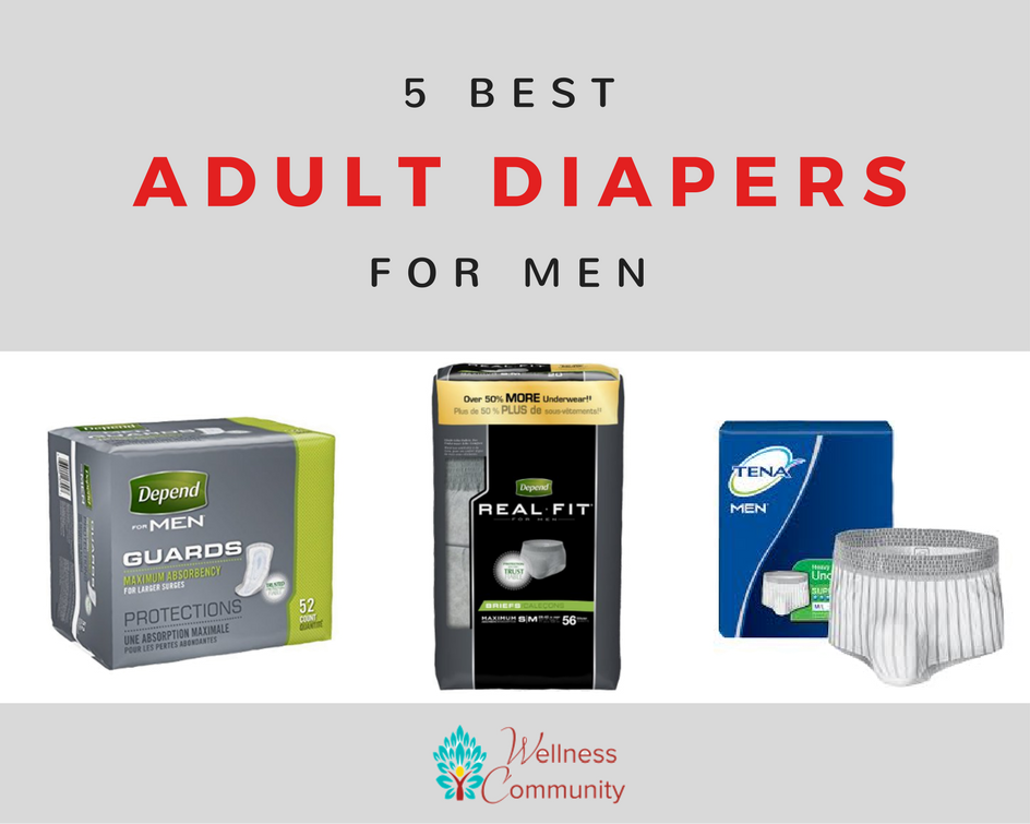 The 5 Best Adult Diapers For Men