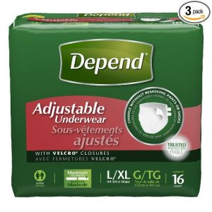 Best Adult Diapers For Men Depend Adjustable