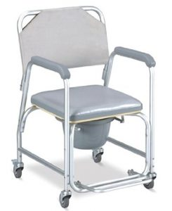 Shower Chair With Wheels Top
