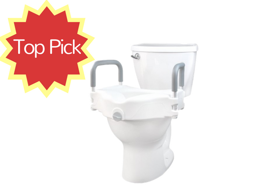 The 5 Best Raised Toilet Seats For Elderly 2017 Reviews