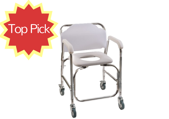 The 5 Best Shower Chairs With Wheels: 2017 Reviews & Deals