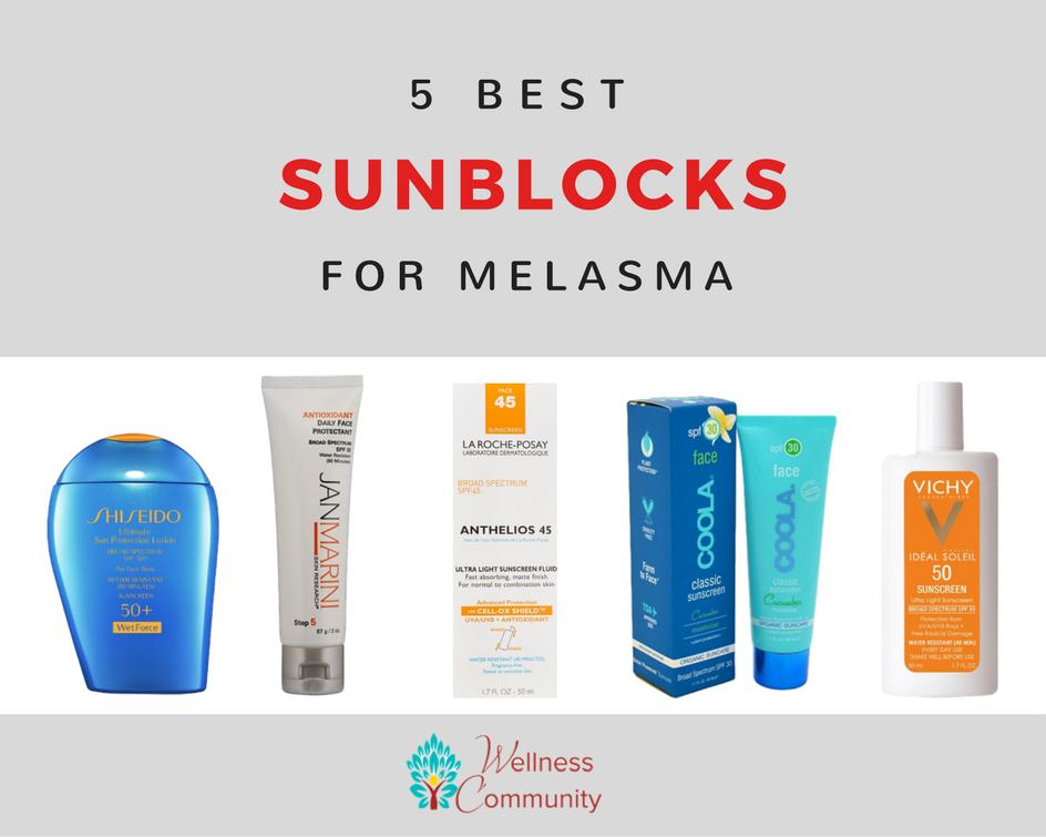 Best Sunblock for Melasma