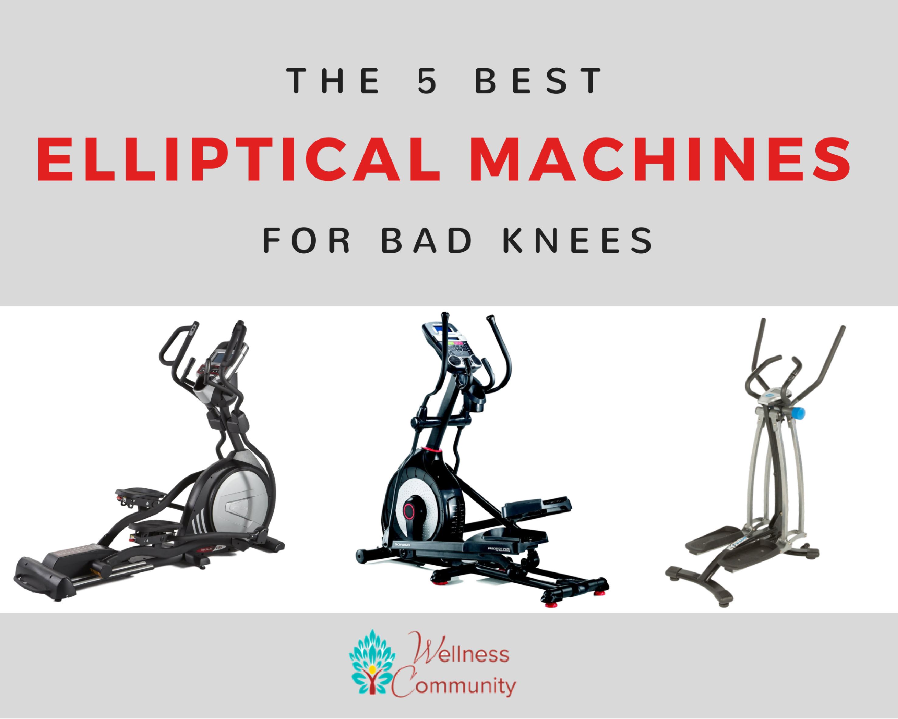 Best Elliptical for Bad Knees