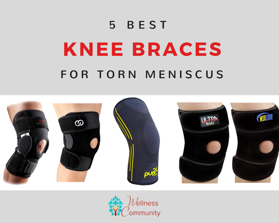 The 5 Best Knee Braces for Torn Meniscus: 2017 Reviews & Deals